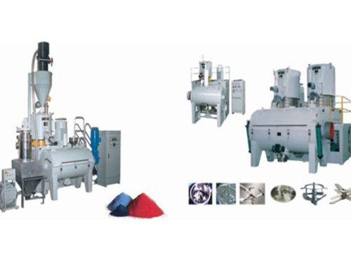 SRL-W Series Horizontal Mixer Group